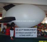 PVC 광고를 위한 팽창식 헬륨 소형 연식 비행선