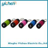 USB에서 건축되는 Keychain 재충전용 LED 플래쉬 등