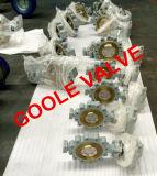 Tipo válvula do talão da bolacha do API de borboleta da selagem do metal da caixa de engrenagens do sem-fim (GALD373W)