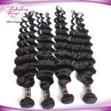 Produtos de cabelo brasileiros da venda por atacado não processada do cabelo do Virgin