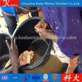Planta de tratamiento móvil del oro de la pantalla de la criba del tamiz del tambor