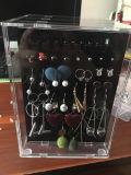 卸し売りアクリルのイヤリングの陳列台の宝石箱