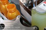 Posizione di difficoltà della bottiglia rotonda che posiziona etichettatrice