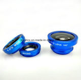 granangular estupendo 0.67X + lente del teléfono móvil del ojo de Micro+Fish
