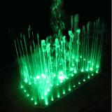 Fonte de água musical da fonte mutável da cor clara do diodo emissor de luz