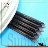 Beständiges flexibles silikonumhülltes umsponnenes Glasfaser-Hochtemperaturgefäß Sb-SGS-25