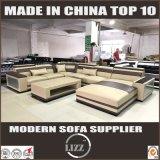 Le jeu moderne de sofa de seul modèle personnalisent le sofa en cuir