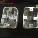 Precisão 5 peças fazendo à máquina do CNC do protótipo do alumínio da linha central
