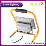 黄色いハンドルの穂軸50W携帯用LEDの洪水の照明(SLFL-WT05)