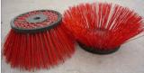 Cepillos rotatorios industriales del barrendero con la cerda mezclada
