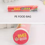 HDPE/LDPE/PEのプラスチック使い捨て可能な食糧袋