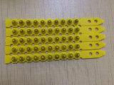 Color amarillo. 27 carga plástica del polvo de la carga de la potencia de la tira de la carga del calibre del calibre S1jl
