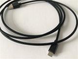 OEMのネットの織り方および金属のマイクロ2.0 USBケーブル