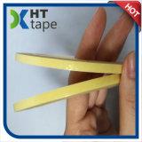 Bande jaune de tissu en verre de fibre de température élevée
