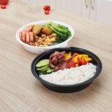 뚜껑 BPA 자유로운 둥근 Microwaveable 플라스틱 음식 저장 그릇을%s 가진 식사 Prep 콘테이너