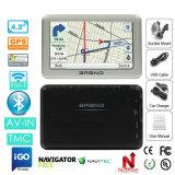 Nieuwe GPS van de Huisvesting 4.3inch van het Metaal GPS van Pnd Portablet van de Navigatie Navigator met de Schors van het Wapen A7, Huivering 6.0; 2016 GPS Camera van de Snelheid van de Kaart de Interne, de AchterCamera van het Parkeren