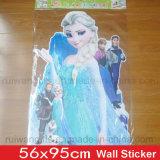 Desenhos animados decorativos por atacado etiqueta congelada da parede para a decoração da parede