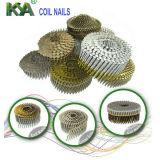 Clavos neumáticos de la bobina de Concial para empaquetar, el cubrir, cercando
