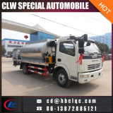 6m3アスファルト輸送の交通機関タンクトラックのトラックのアスファルトタンク車