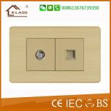 中国の工場供給の良質USBの壁のソケット