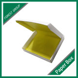 Rectángulo de regalo mate blanco del papel acanalado (FP8039123)