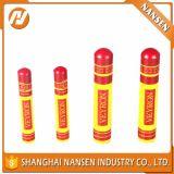 Den Verbrauch und heiße stempelnde Oberfläche anpassen, die Aluminiumbehälter für Zigarre-Lippenstift-Gefäß handhaben