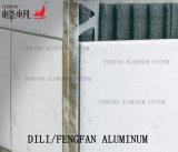 Ajuste cuadrado de aluminio dural del azulejo