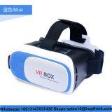 Receptor de cabeza al por mayor de Vr de los vidrios de la realidad virtual 3D del rectángulo 2.0 de Vr