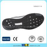 Guarnición respirable atlética de la tela con los zapatos de la parte superior del acoplamiento