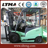 Ltma konkurrenzfähiger Preis-Gabelstapler 1 - 5 Tonnen-elektrischer Gabelstapler mit Batterie