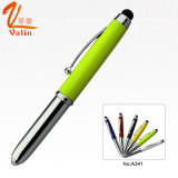 Multi Color LED Light Metal Pen pour les gens d'affaires