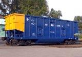 Vagão superior aberto do carro do trem