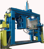 Tipo gêmeo máquina moldando Hubers de Tez-100II de APG que aperta a máquina