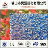 중국 공장 직접 폴리탄산염 Decorattion 건축재료를 위한 다이아몬드에 의하여 돋을새김되는 장 PC 장