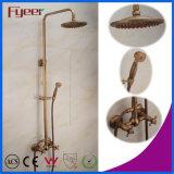 Fyeer Rainfall Antique Brass European Shower Faucet