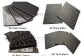 Plaque composite en fibre de carbone en verre, feuille, panneau, planche, placage