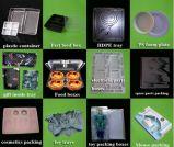 Plastic Machine Thermoforming voor de Dienbladen van het Voedsel/de Dienbladen van het Ei binnen Knipsel en het Stapelen van Apparaat