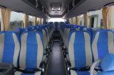 Nouvel autobus de milieu d'arrivée