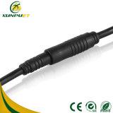 Cable circular de la conexión del alambre del Pin del muelle masculino y femenino