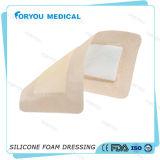 Foryou brachte Wundsorgfalt-Silikon-Schicht-Schaum-Behandlung voran