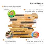 Non si sbiadice mai il mosaico di vetro di Backsplash della cucina delle mattonelle edificio del Brown