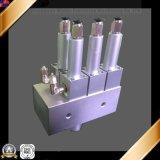 CNC die de Hoge Precisie machinaal bewerken die van de Vervaardiging van het Contract Aluminium CNC machinaal bewerken die Delen (wkc-101) machinaal bewerken