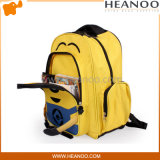 防水人間工学的の個人化された黄色い子分の子供のランドセルのバックパック袋