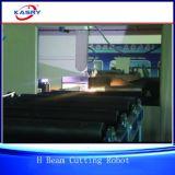 Линия вырезывания профиля для машинного оборудования стального луча изготовлений справляясь
