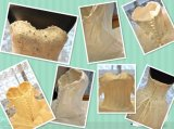 Мантия 2016 платья венчания Mermaid кристаллов мантий шнурка Bridal (W14215)