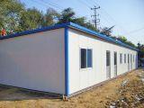 Casa barata pré-fabricada do baixo custo