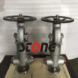 API 602 900lb ~ 2500lb Válvula de vedação de forquilha Bonnet Foral de pressão