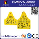 Машина маркировки лазера 50W ключевого держателя высокой эффективности портативная
