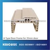 Marco de puerta respetuoso del medio ambiente de WPC para la puerta del espesor de 35m m (PM-120A-35)