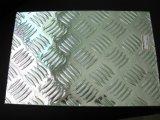 Aluminium 5 de Geruite Plaat van het Aluminium van de Staaf